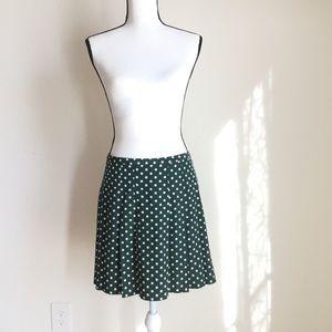 【agnes b.】dot mini skirt